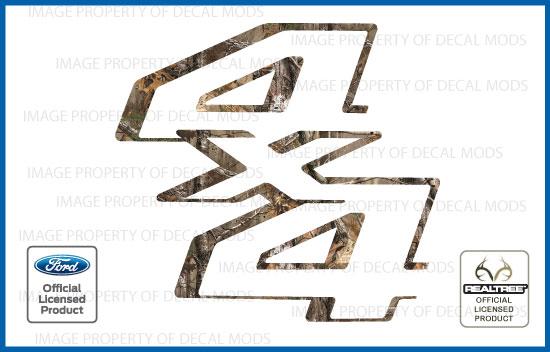 2011 2016 Ford Super Duty 4x4 Realtree Decals Stickers Xtra F250 F350 F450 Ebay
