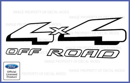 Ford Ranger 4x4 logo sticker decal Graphics