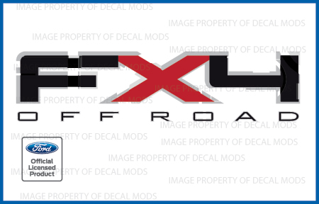 set of 2 2009 2010 2011 Ford F150 FX4 Off Road Decals F Stickers Truck Bed Side