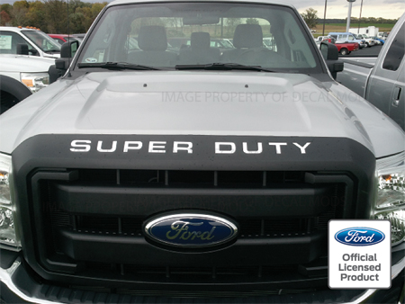 08 16 Super Duty Grille Insert Letters Decals F250 F350 F450
